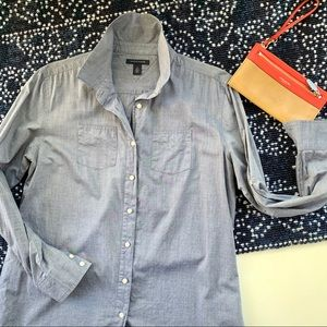 TOMMY HILFIGER M classic denim button down